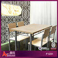fast food restaurant dining table set