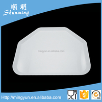 Hard plastic tray