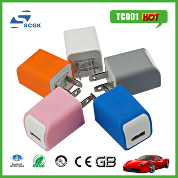 Super fast mobile phone charger EU plug usb wall charger