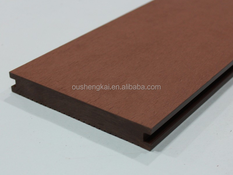 Outdoor solid decking wood plastic composite 140mm*20mm