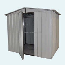 easy and quickly assemble metal garden sheds
