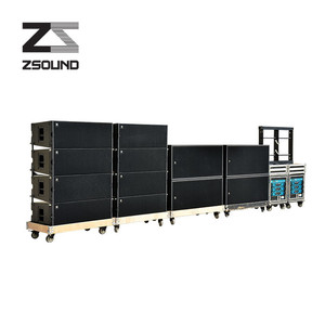 Zsound outdoor line array sound system + tw audio line array speaker