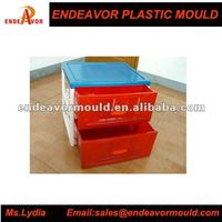 China Taizhou Huangyan Professional Plastic Injection Drawer Mould Supplier