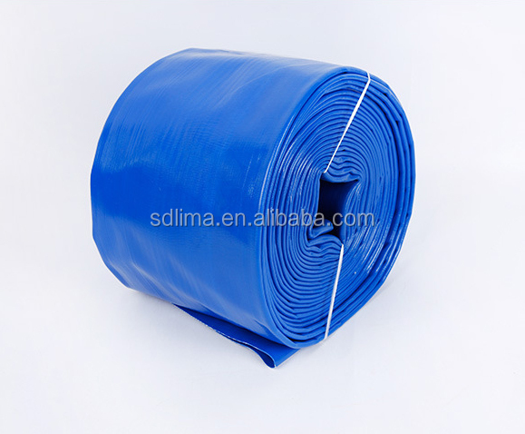"100m , 1"" 2"" 3"" 4"" 6"" 8"" Light Duty PVC layflat Hose ForAgriculture Irrigation /Lay flat discharge Hose"