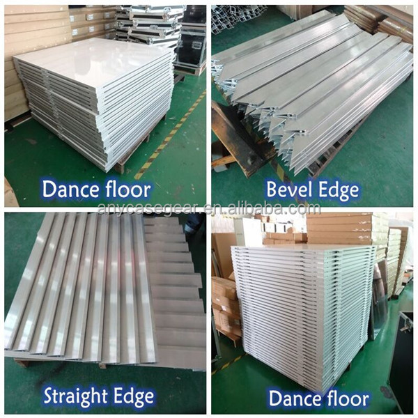 White high gloss white dance floor for wedding party