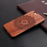 Hot Sell for iphone 6 wood case ,mobile phone accessories wholesale