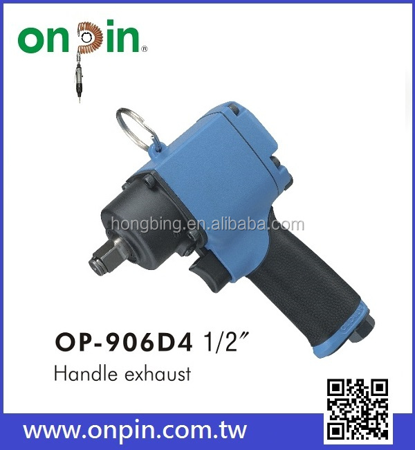 "OP-906D4 (Twin Ring Type) 1/2"" Air Mini High Torque Impact Wrench / Car repair tool"
