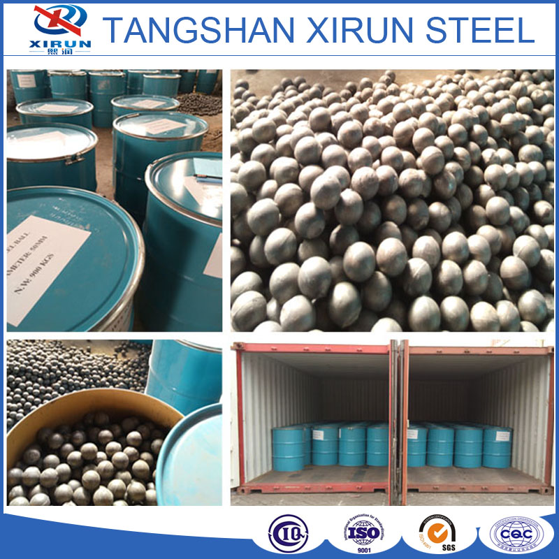 factory price steel grinding media ball forged and cast grinding balls