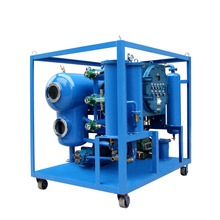 two-stage vacuum transformer oil purification machine / oil purifier price