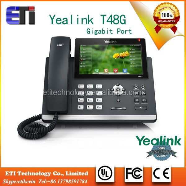 Gigabit IP Phone Yealink SIP-T48G