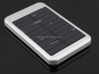 2015 New solar power bank 5000mAh 5V 1.5A output for huawei/htc