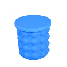 Plastic barware factory sells inflatable wine beer champagne silicone ice genie chest cooler