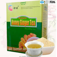Quick Dissolved Granulated Instant Ginger Tea