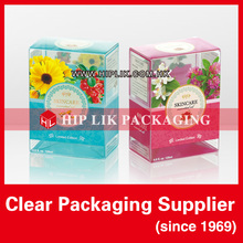 Unique Soft Crease Clear Plastic Folding Box