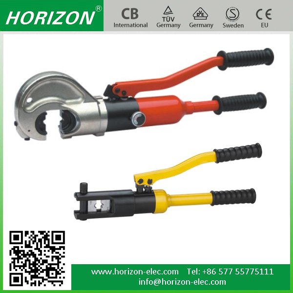 For crimping Copper and Aluminum Lugs, Range From 4mm-1000mm2 Hydraulic Crimping Tool YQK-240