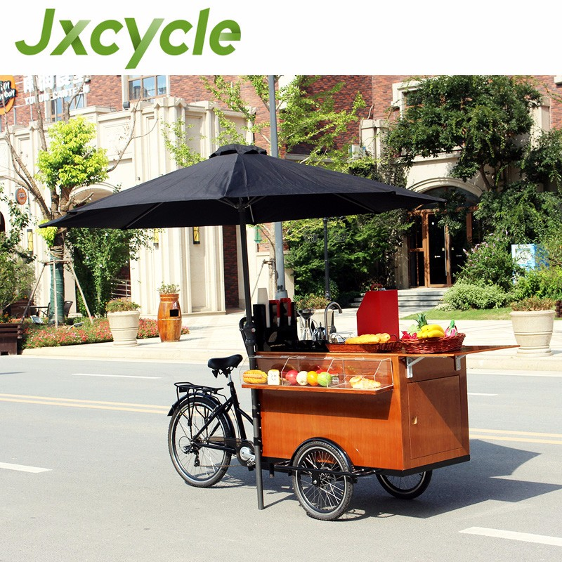 CE approved food mobile cart bike/mobile coffee cart