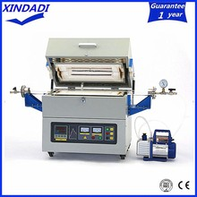 1000 degree integrated controller digital tube furnace 1200 degree