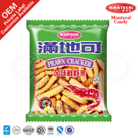 Crisp snack food chinese prawn cracker