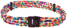 colorful layers chain beads wood belt YJ-HY0221