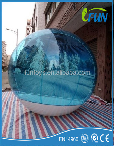 Hot sale Popular outdoor camping inflatable bubble tent 2016