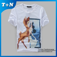all over print polyster sublimation t-shirt