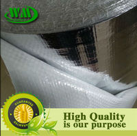 aluminum film/foil reflective sheets heat insulation material for building roofs