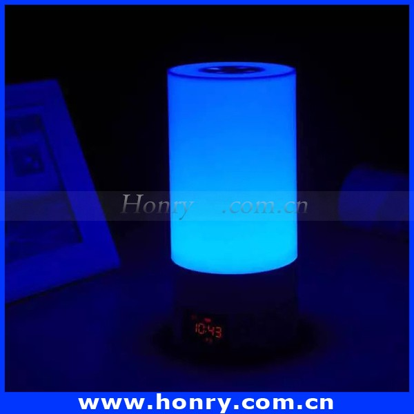 New Innovative Product Ideas 2016 High Quality LED Bluetooth Speaker with Remote