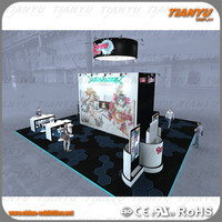 sales promotion floor standing trade show exhibition in china hang up x banner outdoor