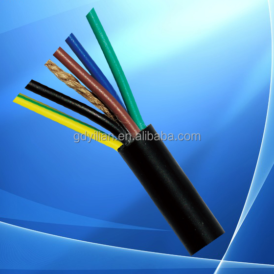 3 core PVC/XLPE insulated Aluminum/Copper core Low voltage power cable for construction
