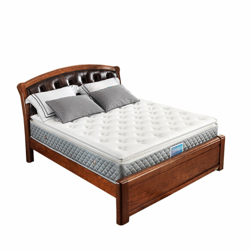 Memory foam bedroom bonnell spring mattress and fiber hybrid 10 inch latex compressed continuous spring mattress - Jozy Mattress | Jozy.net