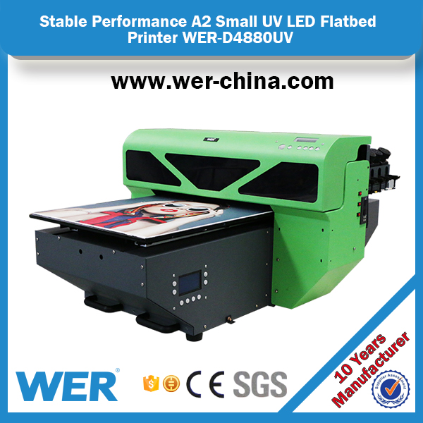 A2 4880 dx5 head digital led uv printer ,glass printing machine