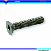 Best quality stainless Steel din 7991 hex aluminum socket head cap screw