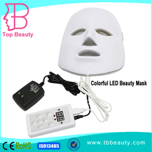 best three color pdt led light therapy anti aging light face mask