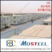 MoSteel Top 10 Container Prefab House for Labor Camp