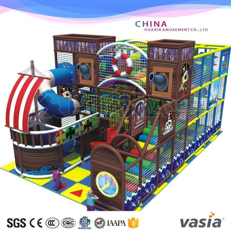 ASTM certificate indoor playground soft play for children