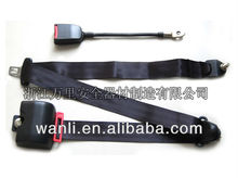 C013 3point ELR security belt with automatic retractor,car 3point retractor safety seat belt,FMVSS 3point seat belts