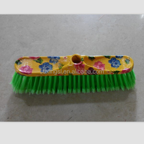 household printed use of soft broom head