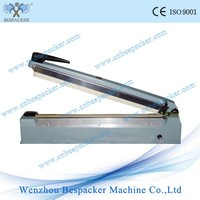 PFS-200 Aluminum Body With Side Cutter Price For Manual Bag Mini Hand Impulse Sealer Machine