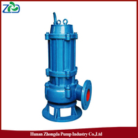 CN Wholesale ZHONGDA WQ Series Energy Saving Submerged Marine Sewage Water Pumps