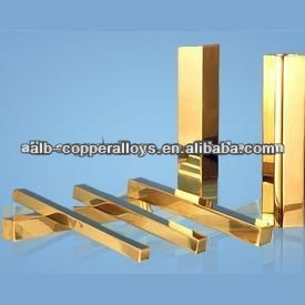 CuNi2CrSi Square Bar Chromium Zirconium Copper Alloy