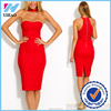 2016 latest red dresses wholesales women wear's sexy bodycon sexy dress summer Slim Sexy woman night club dress