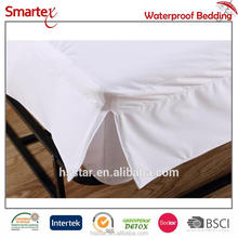 Hotel Poly Jersey Velcro Off Bed Bug Mattress Encasement Protector Waterproof Full Size