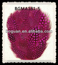 Hot Pink Spotted Guinea Feather Pad