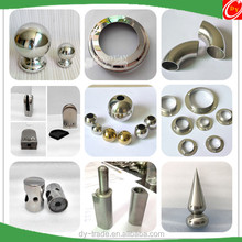 Stainless Steel Stair Fittings , Stainless Steel 304 Outdoor Stair Rail Fittings