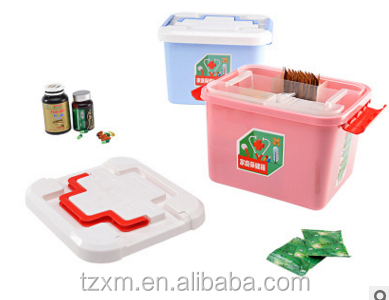 Portable Household First-Aid Kit/Medicine Storage Box Pill Organizer