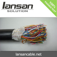 Telephone cable 25/50/75/100 pair cable color code CE UL ISO APPROVAL