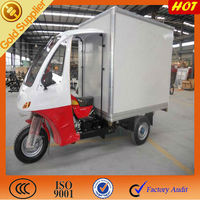 Good Quality of three wheel motorcycle for closed cabin box