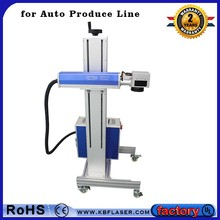 flying line non-metal co2 laser marking machine