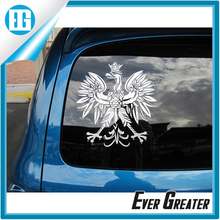 Cheap custom car window decal, decoration car window sticker, custom car window sticker