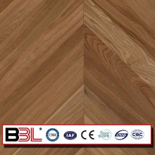 Jiangsu BBL factory direct Mdf Hdf chevron parquet engineered wood flooring